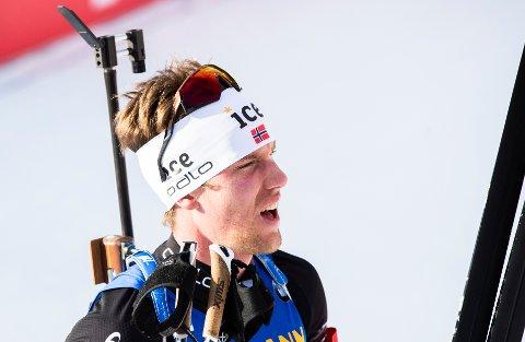 25. PLASS: erlend Øvereng Bjøntegaard fikk det ikke til å stemme på sprinten i EM. Foto: Berit Roald / NTB