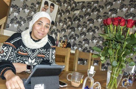 Spennende: Walaa Abuelmagd har travle dager, men synes det er spennende og en berikelse å kunne være del av poscasten Authentigration.