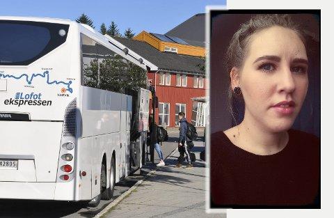 Marte Langstrand (31) måtte gå av bussen fordi den var full. Det medførte at hun mistet flyet sitt, og måtte betale for ny flybillett selv.
