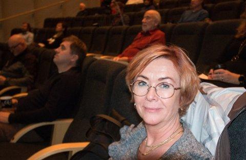 LA FRAM: Bodil Stensrud (H) la fram fellesforslaget fra Kristelig Folkeparti og Høyre.