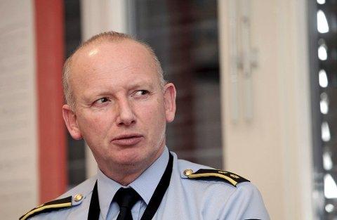 OBSERVASJONER: Tips fra publikum bidro til pågripelsen av fire menn, forteller krimsjef Jan Onarheim ved Vansjø lensmannskontor.