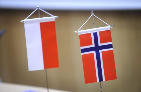 SAMKVEM: Bengt Morten Wenstøb trekker fram de mange gode sidene ved samarbeidet mellom Polen og Norge.