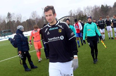 USIKKER: Tidligere MFK-spiller Martin Thømt Jensen vet fortsatt ikke hvilken klubb han skal spille for i 2019, eller om han rett og slett skal legge skoa på hylla.