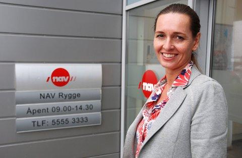 SLÅS SAMMEN: Katarina Gulin blir leder for NAV i nye Moss og får ansvaret for sammenslåingen av NAV-kontorene i Rygge og Moss.