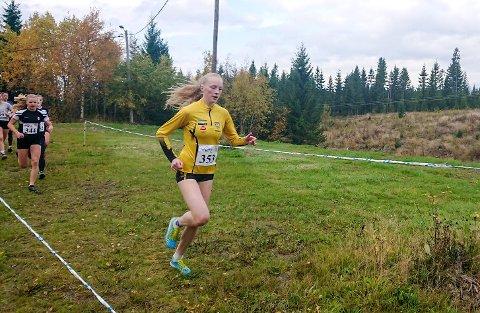 GENERALPRØVE: Grethe Tyldum brukte KM terrengløp som generalprøve foran  helgas NM i Skien.