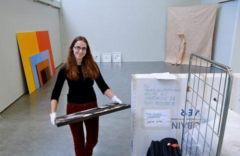 FÅR EKSTRATILSKUDD: Camilla Birkeland, direktør i Museet Midt, kan se fram til 930.000 ekstrakroner som følge av koronapandemien over statsbudsjettet. FOTO: BJØRN TORE NESS