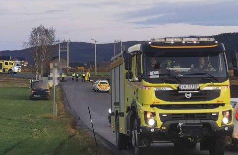 To personer var involvert i dødsulykken på Tillerbruvegen tirsdag ettermiddag. Føreren av personbilen døde i ulykken.