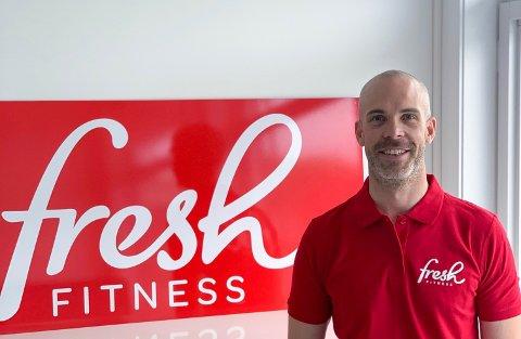 Daglig leder i Fresh Fitness-kjeden, Lars Fredrik Strøm-Håkonsen.
