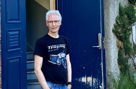 BYGGADMINISTRATOR: Det er passende at akkurat Lars Sjåvik, byggadministrator for Trondheim kommune, bor i jugendperlen på Steinberget.
