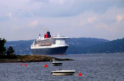 SJELDENT SYN: Det blir ikke mange cruiseskip å se glide inn Oslofjorden denne sommeren. Men lyspunktet er at det allerede har kommet mange bookinger for neste år.