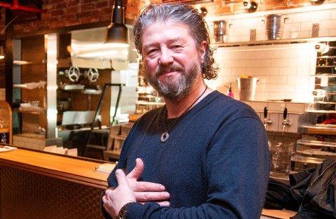 UT AV TIL: Pål Einar Eilertsen, her fotografert på restauranten Nitty Gritty, bekrefter at M.A.S. velger å tre ut av partneravtalen de har hatt med TIL.