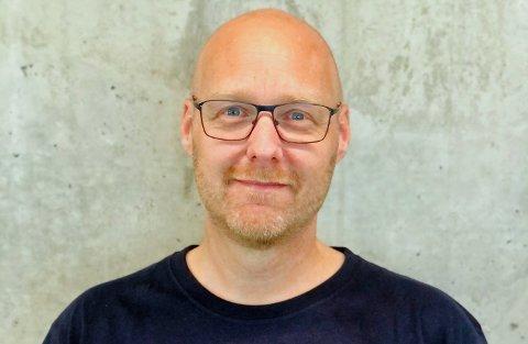 NY JOBB: Kenneth Woie (50) blir ny teknisk sjef ved Tromsøbadet KF.