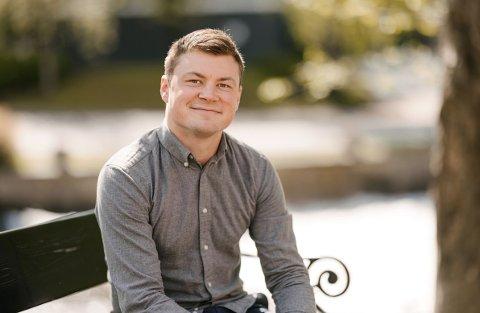 BLIR DIREKTØR: Jostein Larsen Østring blir konserndirektør i Amedia.