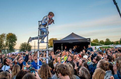 NYE HØYDER: Arrangørene tror på ny Fredvikafestival til sommeren, etter suksessåret 2019. Arkivbilde
