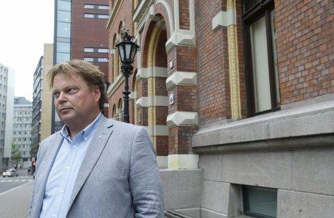 Vitnet torsdag: Jørn Lier Horst var en av etterforskerne på Kristin-saken. I går vitnet den kjente forfatteren i retten.foto: Terje Pedersen/scanpix