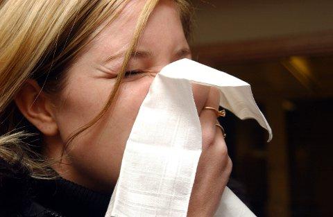 Allergisk: Jeg har begynt å bli syk de gangene jeg har fri, og jeg tror det må være en slags allergi.arkivfoto