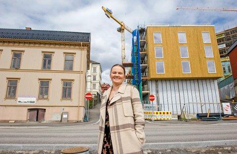 NY JOBB: Kari Anne Myrholmen er ny husvert på Festiviteten.