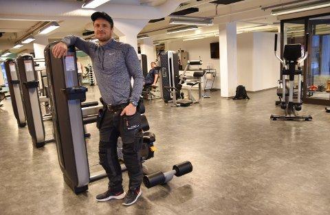 TJUVSTARTER: Robert Paulsbyen åpner Paulsbyen Gym enkelte dager i desember så folk kan komme og prøve byens nye treningssenter