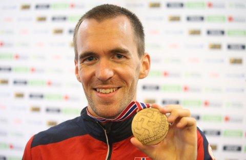 MEDALJØREN: Endelig ble Magne Dæhli topp tre på en individuell distanse på et VM.