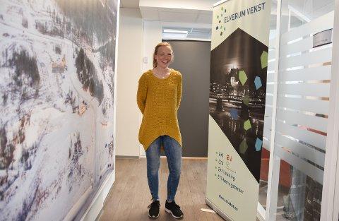 PROSJEKTLEDER: Heidi Erikstad har begynt i ny jobb i Elverum Vekst.