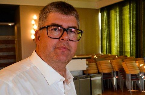 STEMTE NEI: Som eneste kommunestyrerepresentant stemte Tor Kristian Godlien (Ap) nei til å godkjenne reguleringsplanen for Ydalir Park. Han er bekymret for trafikksituasjonen ved Ydalir skole og Ydalir barnehage.