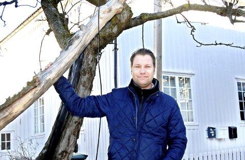 Jon Terje Johnsen kan glede seg over god trafikk i Foynhaven.