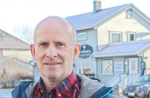 STÅR HØYT: Venstrepolitiker og leder av klimarådet, Per Espen Fjeld, forteller at å etablere en klimasjef- stilling i Færder kommune står høyt på deres agenda.