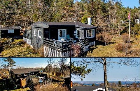 Denne hytta var priset til rett under to millioner kroner, og fikk fort ny eier.
