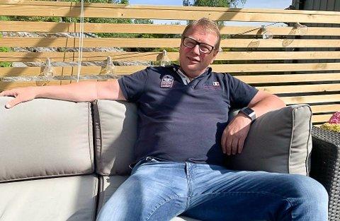 GODT HÅNDTERT: HAF-leder Tor Morten Thorsen er stolt av måten koronakrisa og smitteverntiltakene er håndtert i industrien på Herøya. Det er svært få permitterte blant de drøyt 1000 aktive medlemmene i arbeiderforeningen.