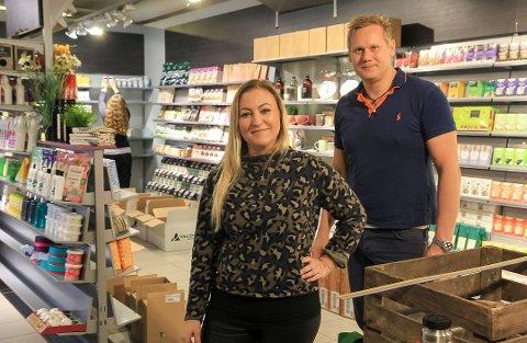 VILLE SEG IKKE: Marianne Rømyr Wighus og Thomas Wighus klarte ikke å opprettholde butikkdrifta.