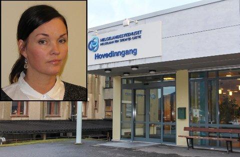 Ny jobb: Mette Horsberg skal jobbe for Helgelandssykehuset fra nyttår.