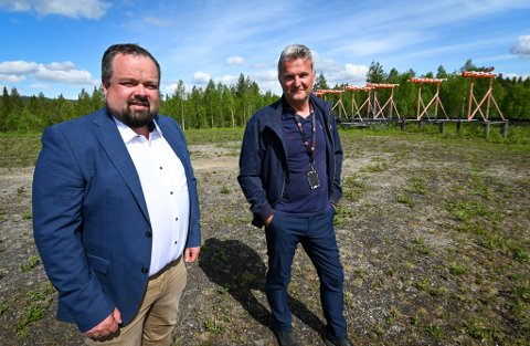 Ole M. Kolstad og Gunnar Moe er svært fornøyde med dagen og gleder seg til resten.