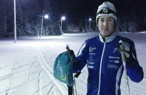 Simen Sælid fra Ringkollen skiklubb.