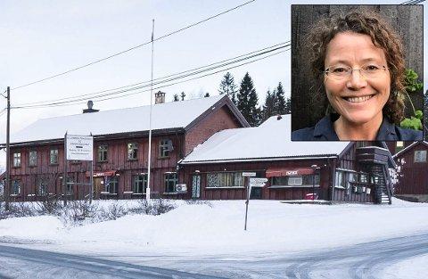 ÅPNER SPISESTED: Mari Staff Brostrøm gleder seg til å drive Sollihøgda tursenter.