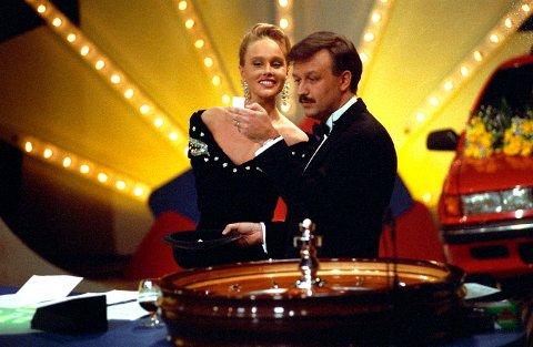 TILBAKE: Programmet Casino kommer tilbake på TVNorge. Det samme gjør Hallvard Flatland og Birgitte Seyffarth.
