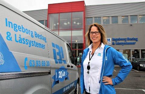 LØSTE NØKKELKODEN: Ingeborg Haukerud deler æren for suksessen med alle sine ansatte.