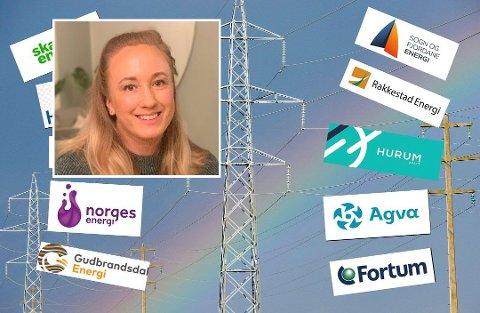 Sparer mye: Ingeborg Bern Egeland (29) ringer strømselskapet sitt én gang i måneden. Det sparer hun store penger på.