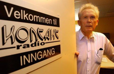 Radiomannen Hans Henrik Årby (bildet) og Ole Hetlesæther er gjester hos Hans Dysthe i Kontaktradio.