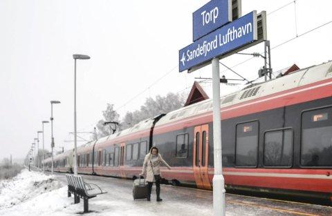 Intercity: Ved årsskiftet skal Bane NOR anbefale den korridoren vi mener er best for kommunen, regionen og jernbanen, skriver Hanne Sophie Solhaug. Arkivfoto: Paal Even Nygaard
