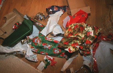 AVFALL: Vet du hvordan du skal kildesortere avfallet etter alle julegavene?