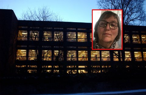 BOLIGSJEF: Torild Fogelberg Hansen (innfelt) ble drapstruet sammen med en av sine ansatte.