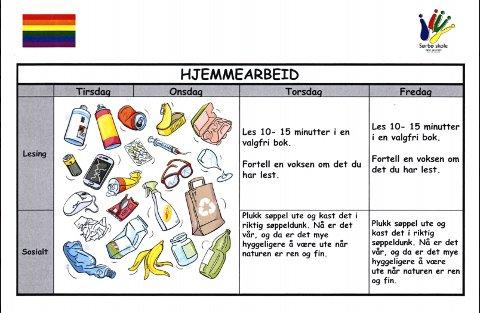 Sendte bekymret brev om det hun mener er homopropaganda ved Sørbø skole