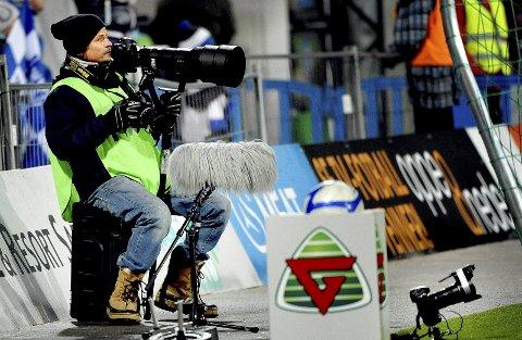 Gamle tomter: Bjørn Steinar Delebekk på Sarpsborg stadion in hjembyen 18. mars 2011. Sarpsborg 08 debuterte i eliteserien med 3-0-seier over Molde.