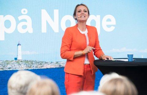 Statsråd Linda Hofstad Helleland (H).