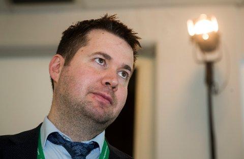 Geir Pollestad, stortingsrepresentant for Senterpartiet. (Foto: Terje Pedersen, NTB Scanpix)