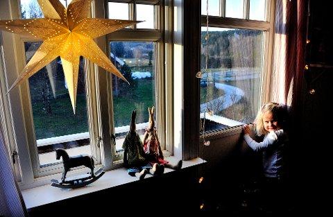 SER DÅRLIG UT: Meteorologene kan ikke love sarpingene hvit jul i år.