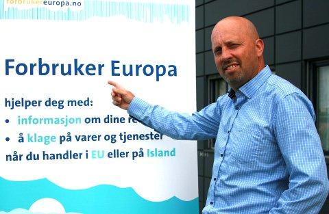 Ragnar Wiik er direktør i Forbruker Europa.