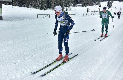 BIRKEN: Martin Lund Sjøen har gått Birkebeinerrennet på ski.