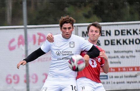 TILBAKE: Terje Hellan bor på Ørje, men bestemte seg i sommer for å spille for rivalen Mysen i samme divisjon, 6. divisjon. Tirsdag var han i aksjon for sin nye klubb. Det ble ingen drømmestart for Hellan og Mysen. Laget tapte 4-2 for Rygge.