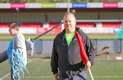 ABDISERER: Geir Kjetil Øvstetun har vore leiar for Årdal FK sidan 2006. No takkar for seg. – Eg har sete i rolla altfor lenge, seier han.